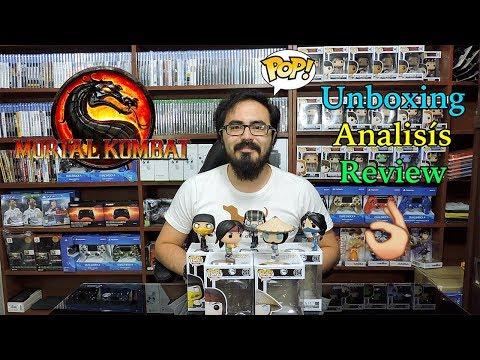 Funko Pop Mortal Kombat X - Review - Análisis - Unboxing - JxR