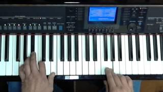 Een ons geluk  Frans Bauer - Keyboardlessons Yamaha, Tyros, PSR or CVP