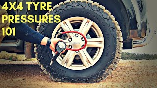 Off-Road 4WD Tyre Pressures - Sand Mud Rock And Snow