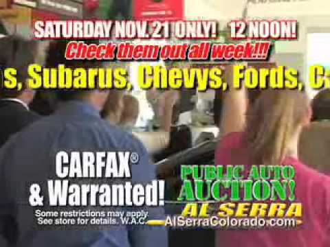 Al Serra Used >> Al Serra Chevrolet Volkswagen Used Colorado Springs Public Auto Auction