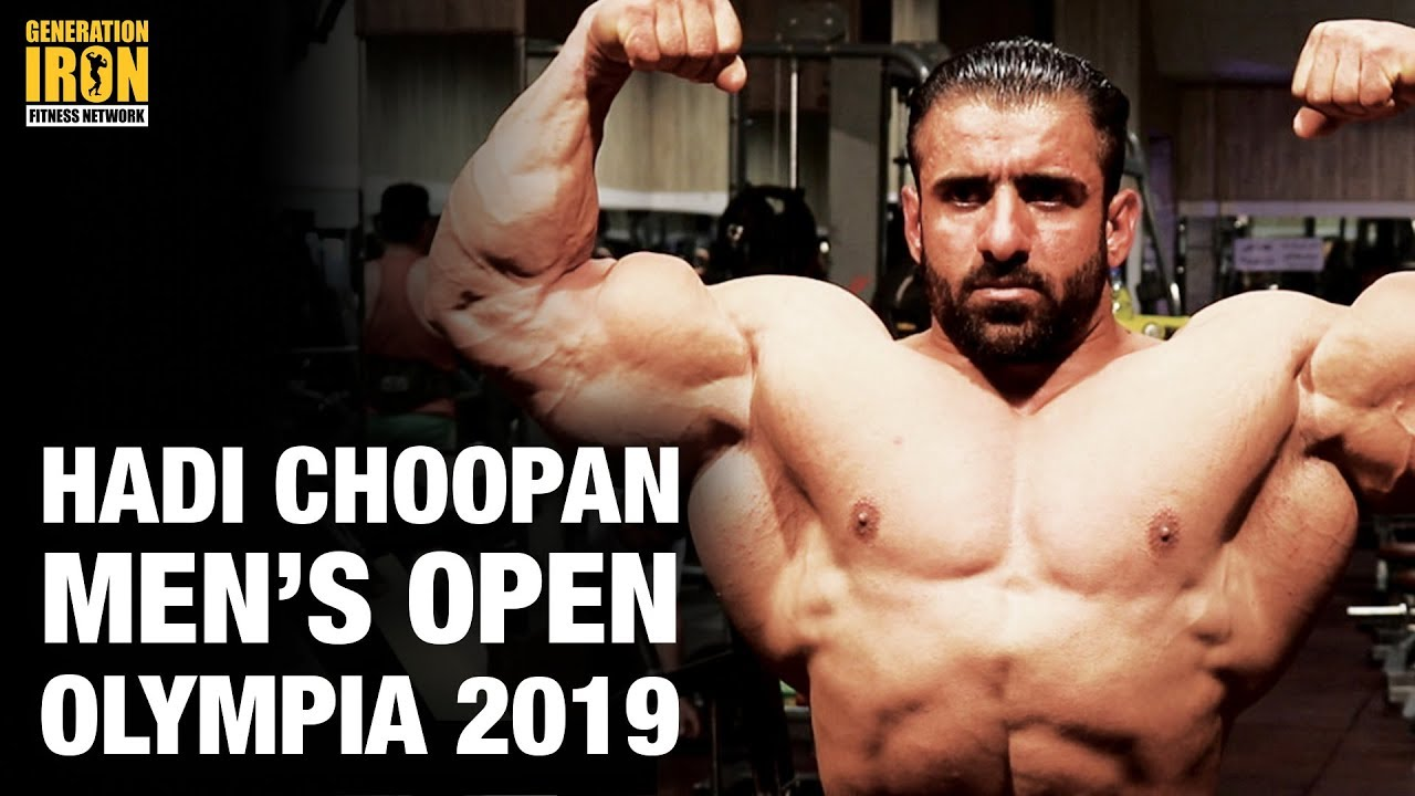 Confirmed: Hadi Choopan Will Compete In Men's Open Bodybuilding At Olympia  2019 [UPDATE]