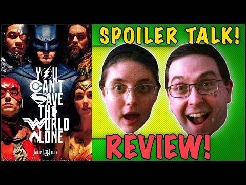 REVIEW! Justice League SPOILER TALK! - Gal Gadot Movie 2017