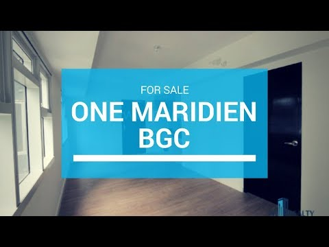 One Maridien Alveo BGC Condo For Sale - 5M