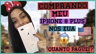 COMPRANDO E ABRINDO MEU IPHONE 8 PLUS NOS EUA