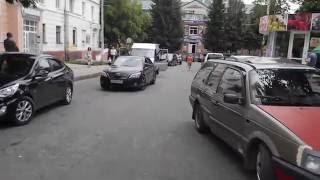 29 июня 2016 года , движение в центре Брянска перекрыто  на 3 часа