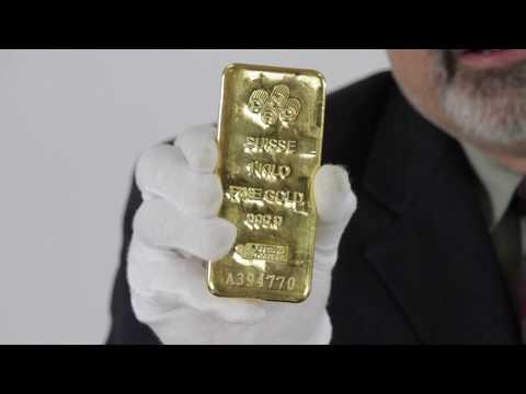 1 kilo PAMP Suisse Gold Bar (32.15 oz) .9999 Fine | Goldmart