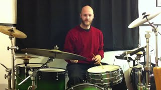 Take five Groove How to drum lesson