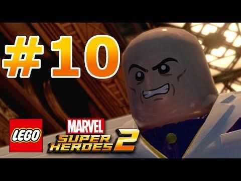 LEGO Marvel Super Heroes 2 - Walkthrough - Level 10: Noir Night-Mayor