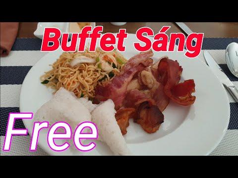 Buffet Sáng ở Cao Hotel Vũng Tàu (Tạm Biệt Vũng Tàu Chúng ta về Sài Gòn)