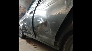 #PDR Двери тотал, ремонт.