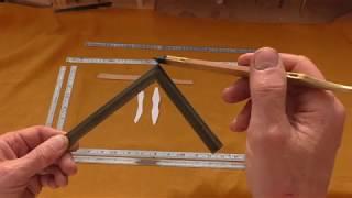 Японский столярный измерительный инструментт