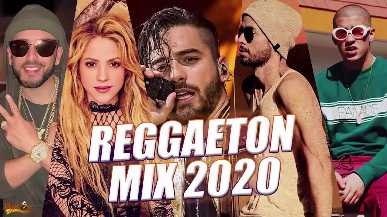 Reggaeton Mix 2020  Estrenos Reggaeton 2020 Lo Mas Nuevo Top 20 Canciones Ozuna Maluma Bad Bunny