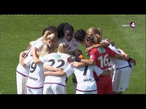 Coupe de France feminine. Final. Montpellier - Lyon [France 4] (15/05/2016)