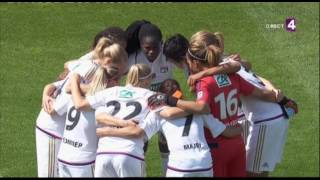 Coupe de France feminine. Final. Montpellier - Lyon [France 4] (15/05/2016)