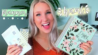 PLANNER HAUL | MICHAELS RECOLLECTIONS PLANNER 2019