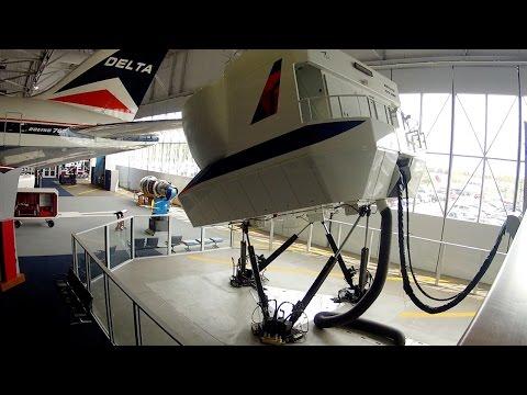 Non-Pilot tries & FAILS to Land Airliner = epic crash - 737-200 full motion Level D sim