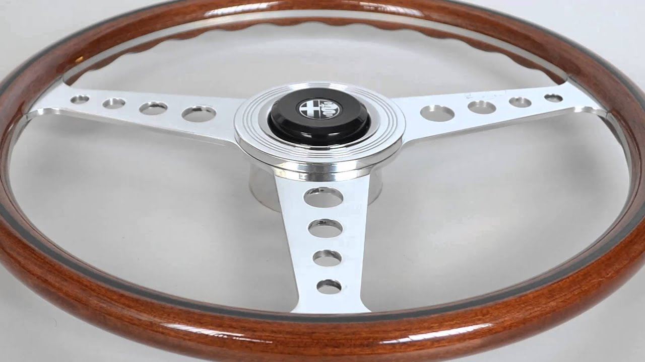 Nardi Mm Wood Steering Wheel For Alfa Romeo Classic Cars In