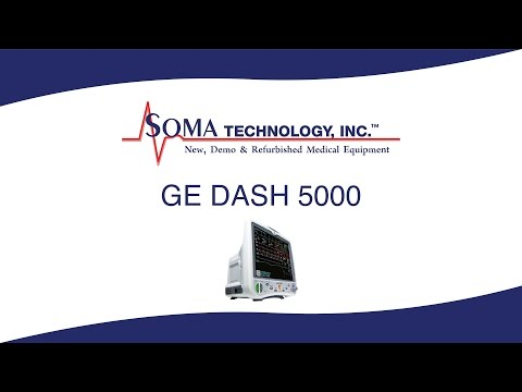 GE DASH 5000 - Soma Technology, Inc