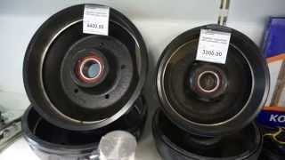 Тормозные барабаны осей прицепа Кнот Аутофлекс продажа  и ремонт(, 2015-06-07T20:17:14.000Z)