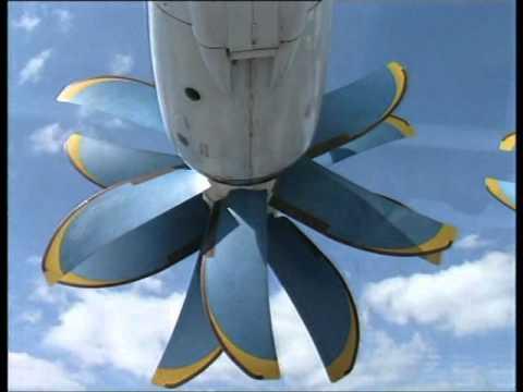 Presentation of the Antonov AN-70.