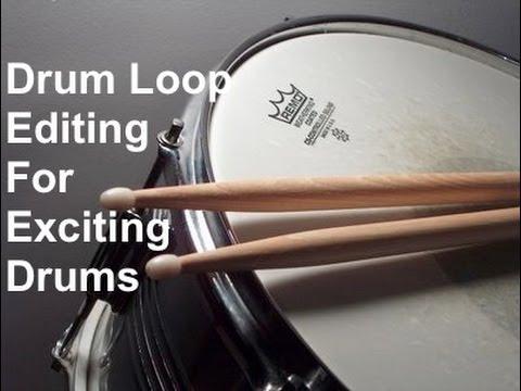 Drum Loop Editing - Rinse, Reverse & Repeat