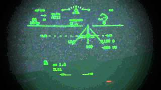 737 HUD AIII Approach and Landing with 600 RVR