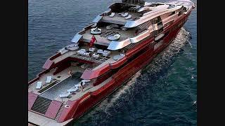 les bateaux de luxe et les yacht des super riches