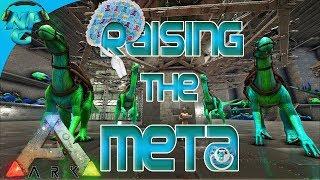 ARK Taming Shenanigans - Raising our Raiding Aces! ARK: Survival Evolved Ragnarok PVP E17