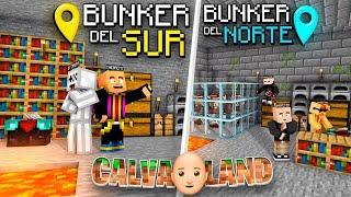 ENSEÑAMOS EL BÚNKER SECRETO & PROYECTO MARTE   CALVALAND