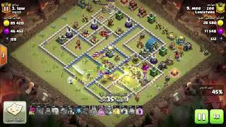 amazing attacks TH12 Three star with excellent strategys 🖤❤️ from clan lenisters guys 👍💪🏽