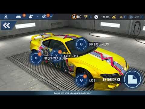 Need For Speed No Limits. Nissan Silvia Spec R. Nível maximo.