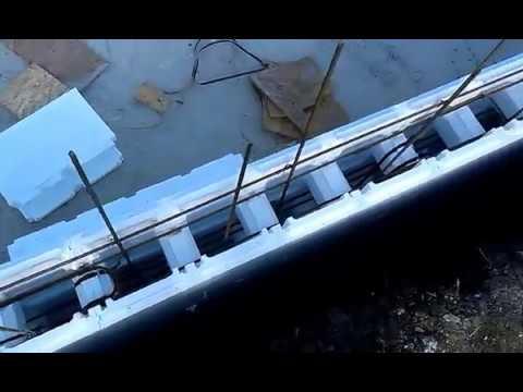 Piscina cofraje polistiren 8x4 alba iulia youtube for Constructie piscine