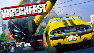 THE SALTIEST LOBBY EVER! - Wreckfest with The Crew!