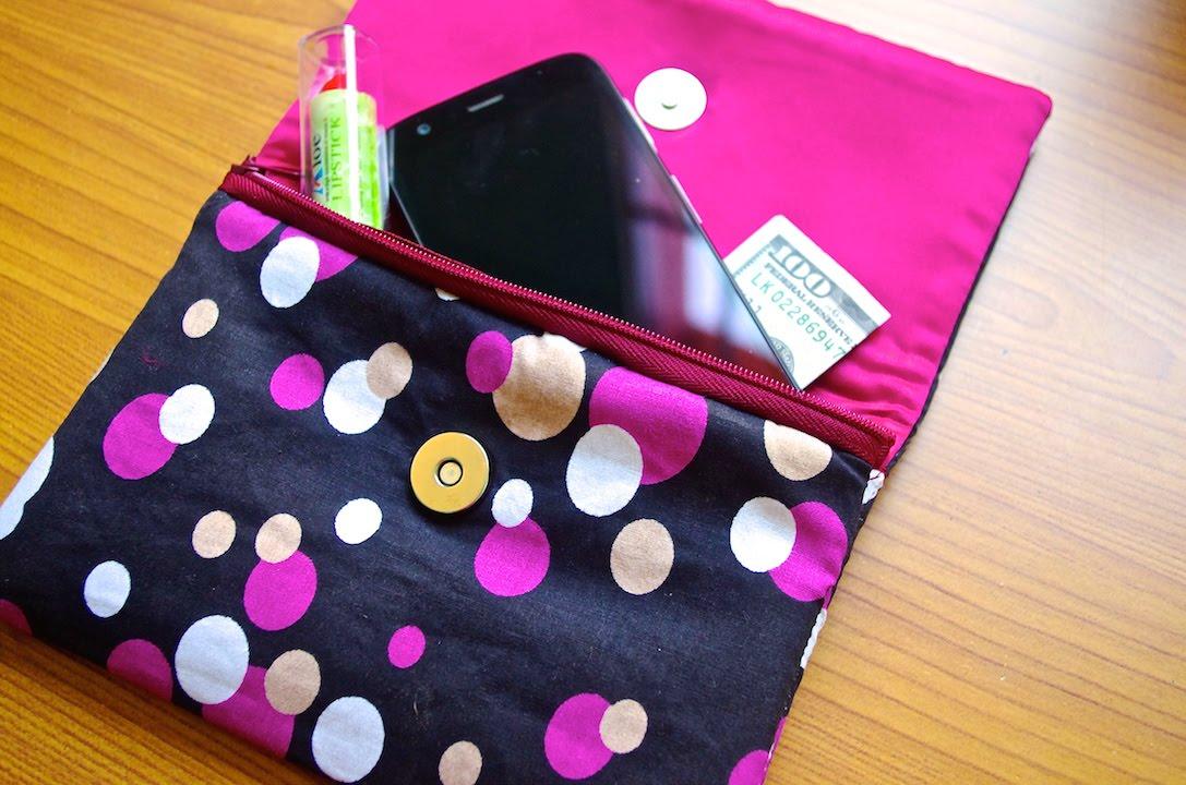 Como hacer un bolso tipo cartera youtube - Bolsos para hacer ...