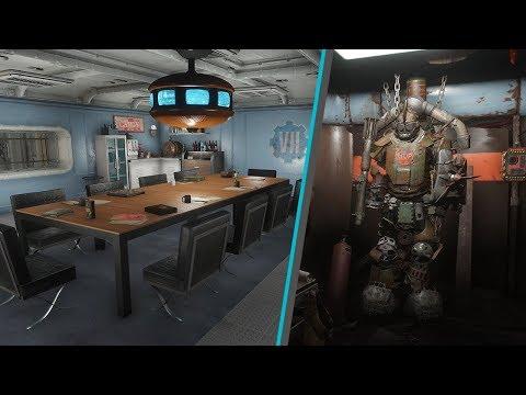 Fallout 4 | Vault Conference Room (Super Mutant Quarters)
