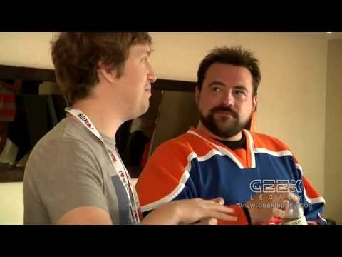 Geek Legacy Talks Movie Making with Kevin Smith and Matt Johnson SDCC 2013