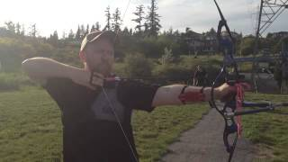 Jarrod archery form