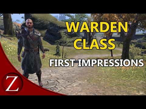 Eso Warden Unlock