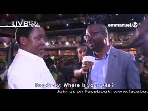 EMMANUEL TV SUNDAY SERVICE 17 06 2018 PROPHET TB JOSHUA AT THE ALTER 3  VIDEO 7