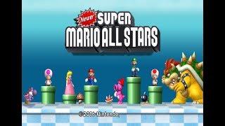 Newer Super Mario All Stars + World [Wii] #2