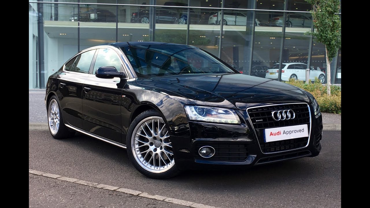 medium resolution of yb60ojb audi a5 sportback tdi quattro s line black 2010 west london audi