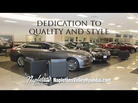 Napleton Valley Hyundai Luxury Car TV Spot - YouTube