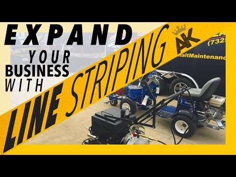 LEARN HOW TO EXPAND YOUR BUSINESS WITH LINE STRIPING