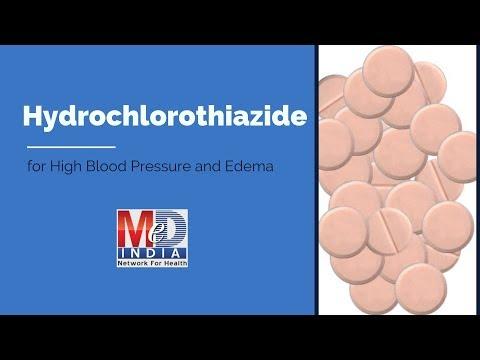 Hydrochlorothiazide For High Blood Pressure And Edema