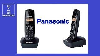 Panasonic KX-TG1611 UNBOXING (KX-TG 1611PDH KX-TG 1611GR KX-TG 1611FX KX-TG 1611HG KX-TG 1611PD)