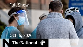 CBC News: The National | Rapid COVID-19 tests for Canadians; Thanksgiving confusion | Oct. 6, 2020