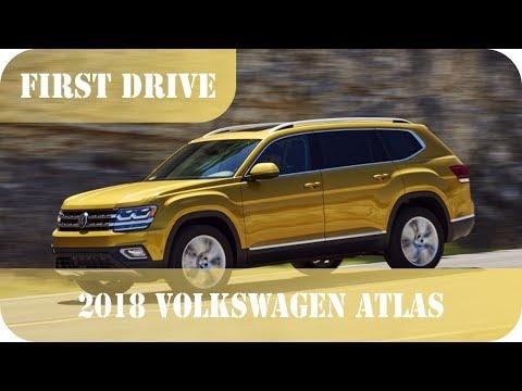 2018 Volkswagen Atlas First Drive