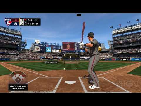 MLB The Show 18 - The Arizona Diamondbacks Vs The New York Yankees Gameplay