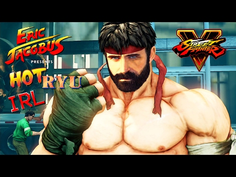 Street Fighter IRL - HOT BEARDED RYU [Eric Jacobus]
