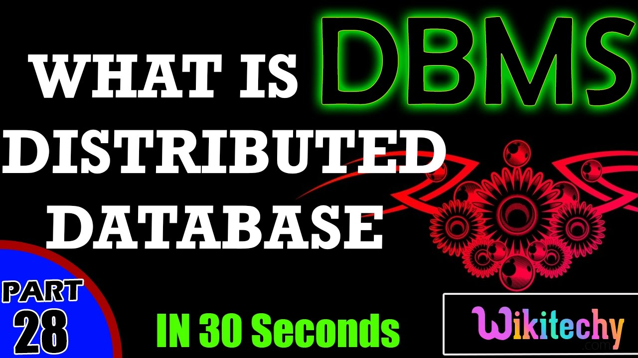 what is a distributed database distributed database examples what is a distributed database distributed database examples dbms interview questions